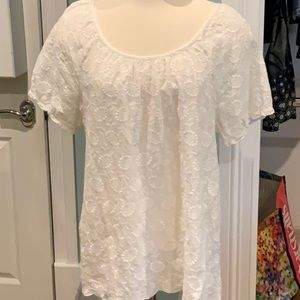 LUCKY BRAND BLOUSE 💯 COTTON SUPER CUTE PERFECT